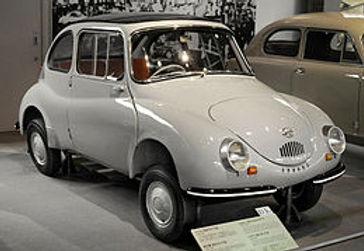 昭和33年発売  スバル360 (K111型)
