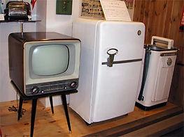 昭和31年白黒テレビ、洗濯機、冷蔵庫は、「三種の神器」