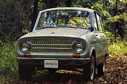 三菱・ミニカ(初代)1962年(昭和37年) 型式LA20