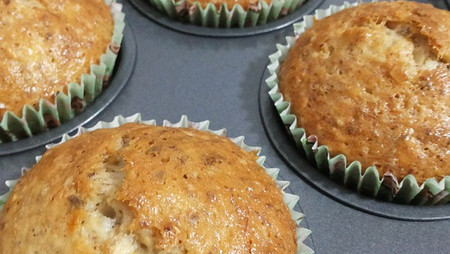 Recipe: Oatmeal Banana Muffins