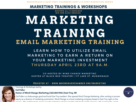 Mukwonago Chamber Hosts Marketing Training Series