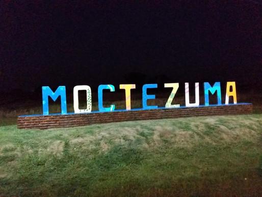 Moctezuma embellece su entrada