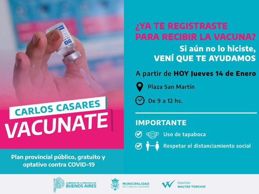 Carlos Casares Vacunate ya está en marcha