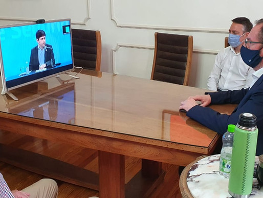 Torchio acompañó a Kicillof en la presentación del plan integral de Seguridad