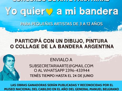 La Subsecretaría de Arte lanzó un concurso para niños con el apoyo del Cabildo Nacional.