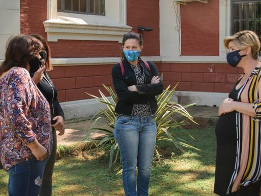 Vanina González comenzó la nueva gestión en el área de Cultura