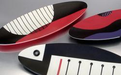 Varied elipse platters
