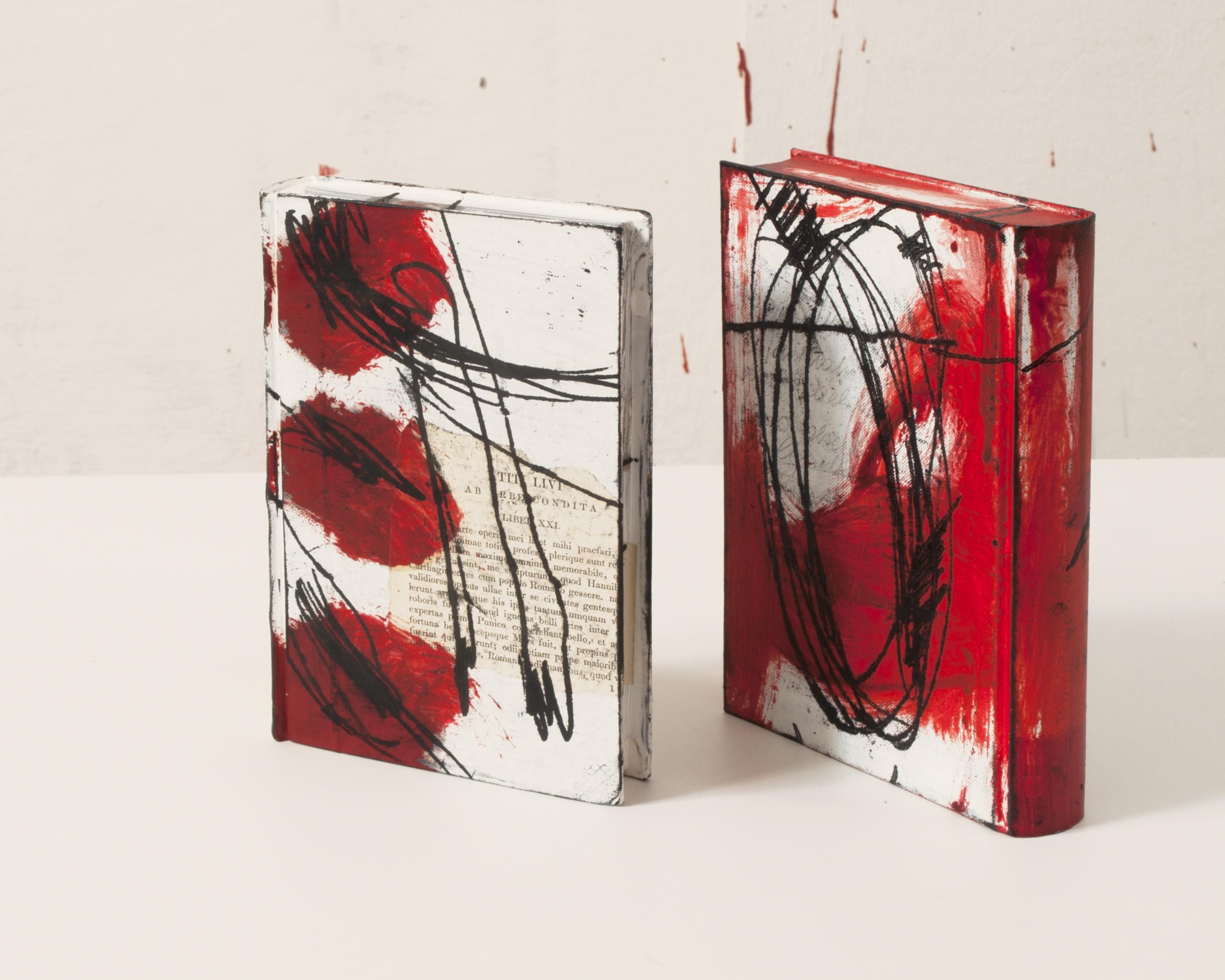 Regina Hadraba:  2 Buchobjekte, 2014
