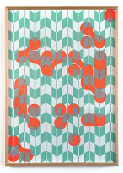 Michael Wegerer: Figures neon grün, 2020