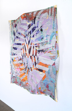 Michael Wegerer: New Generation Fold No31 (24k Gold), 2021
