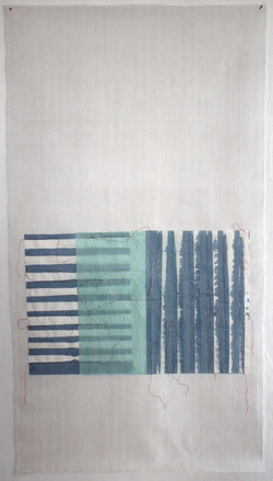 Christine Maringer: Blau, entfaltet #6
