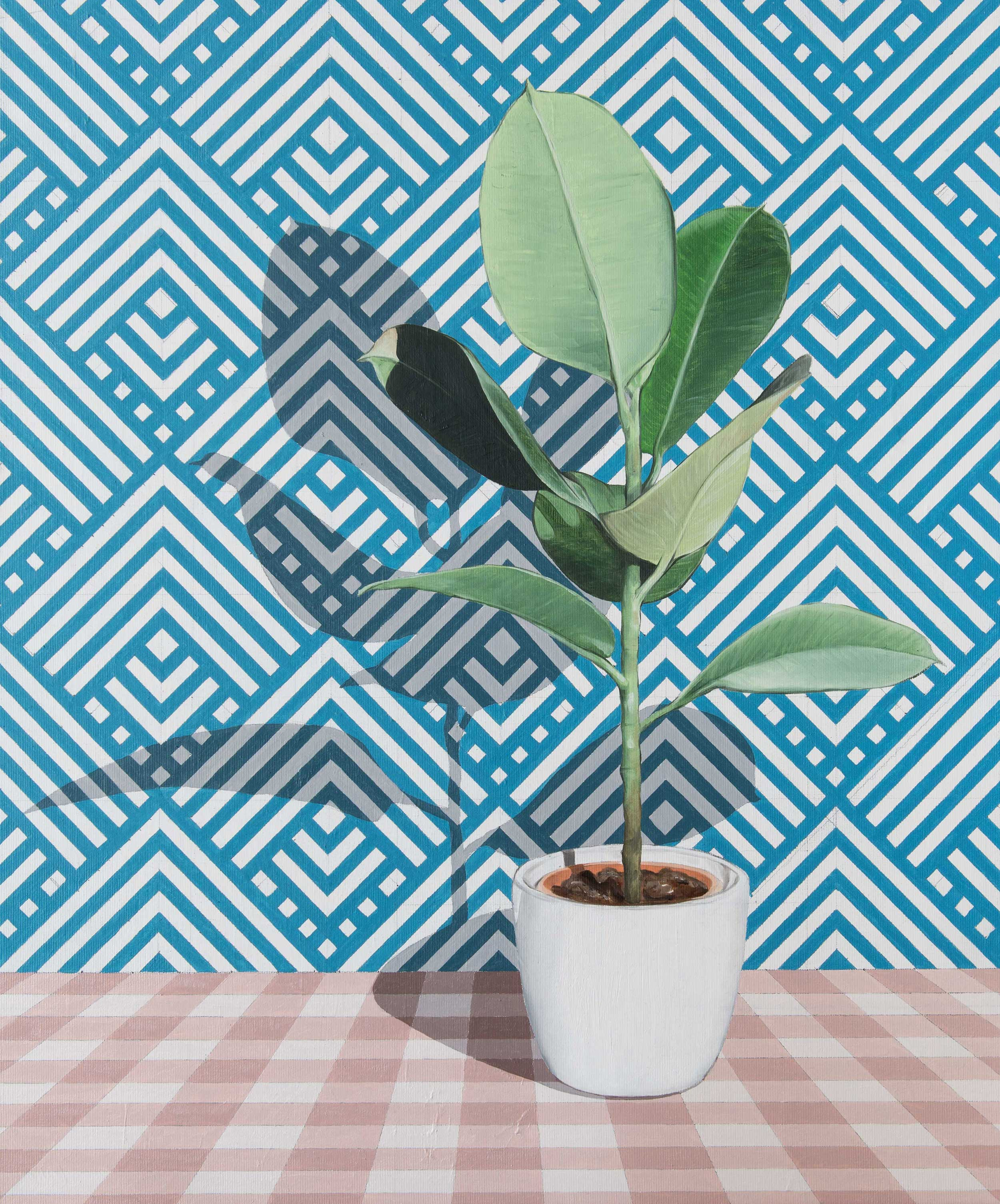 Christopher Kieling: Ficus_Elastica_A_1, 2020
