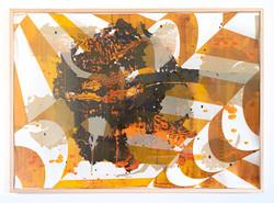 Michael Wegerer: Folded Figure No33 (Earth Day), 2021