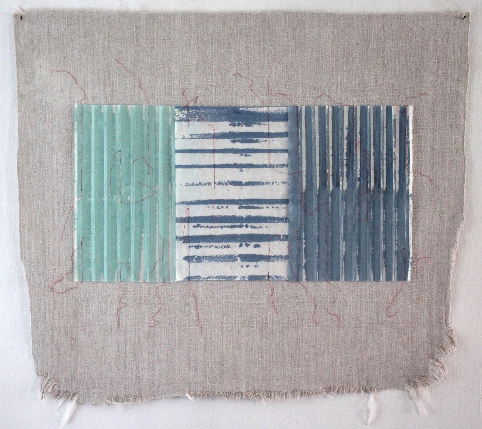 Christine Maringer: Blau, entfaltet #4