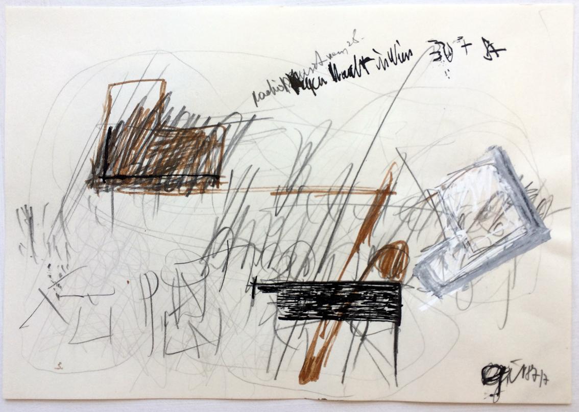 Peter Hofmann-Gir: Regen Nacht in Wien