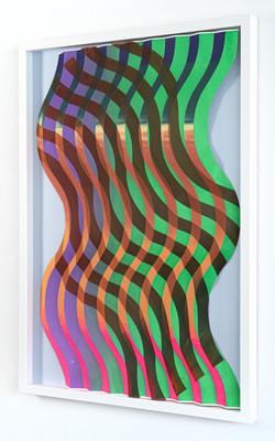Michael Wegerer: Fold Wave No24 (Catwalk), 2020
