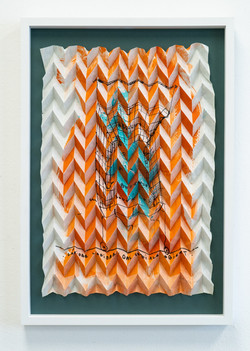 "aus der Edition ""Folded Figures Tissue Notes"", 2021"