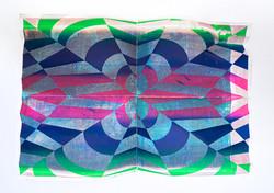 Michael Wegerer: New Generation Fold No40 (Mirror-Light RGB), 2021