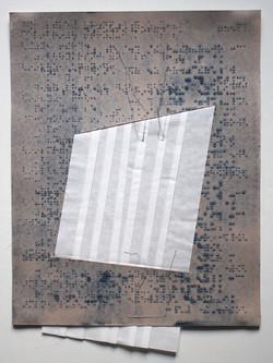 Christine Maringer: Braille mit Faltung #2