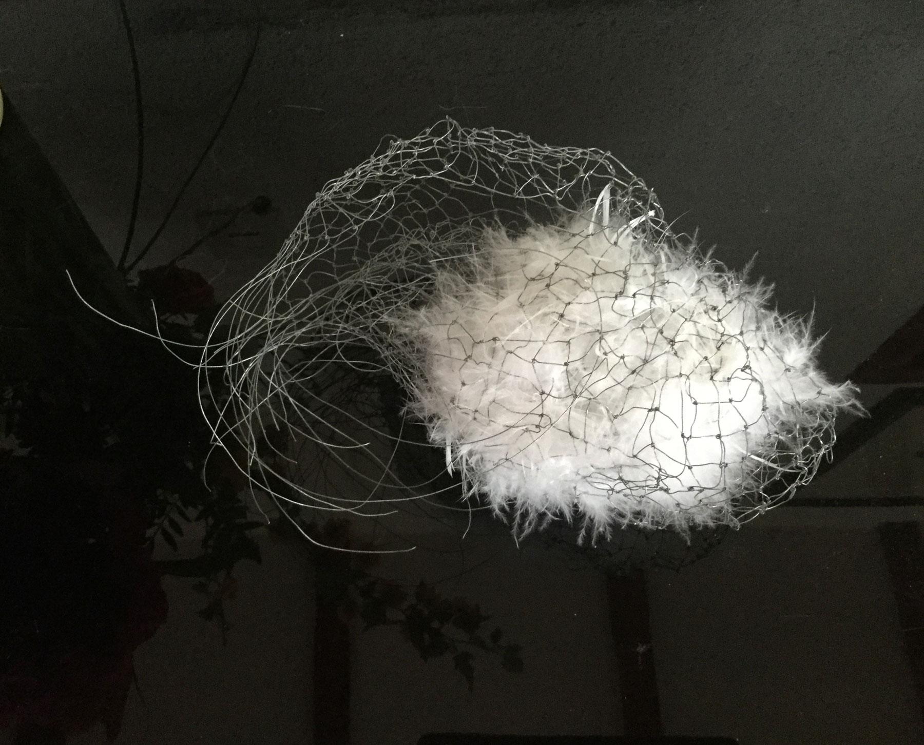 Helga Cmelka: Federkern I, 2017