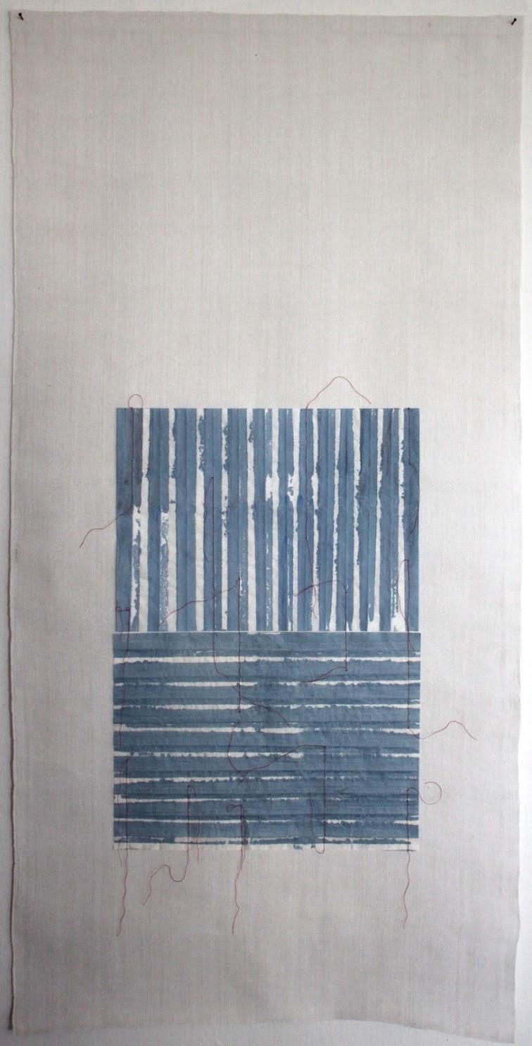 Christine Maringer: Blau, entfaltet #5