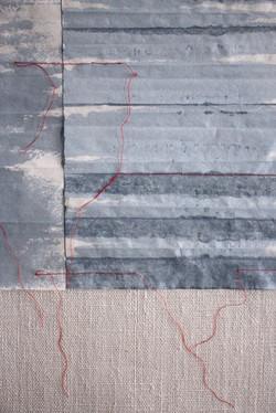 C. Maringer: Blau. entfaltet #3, Detail
