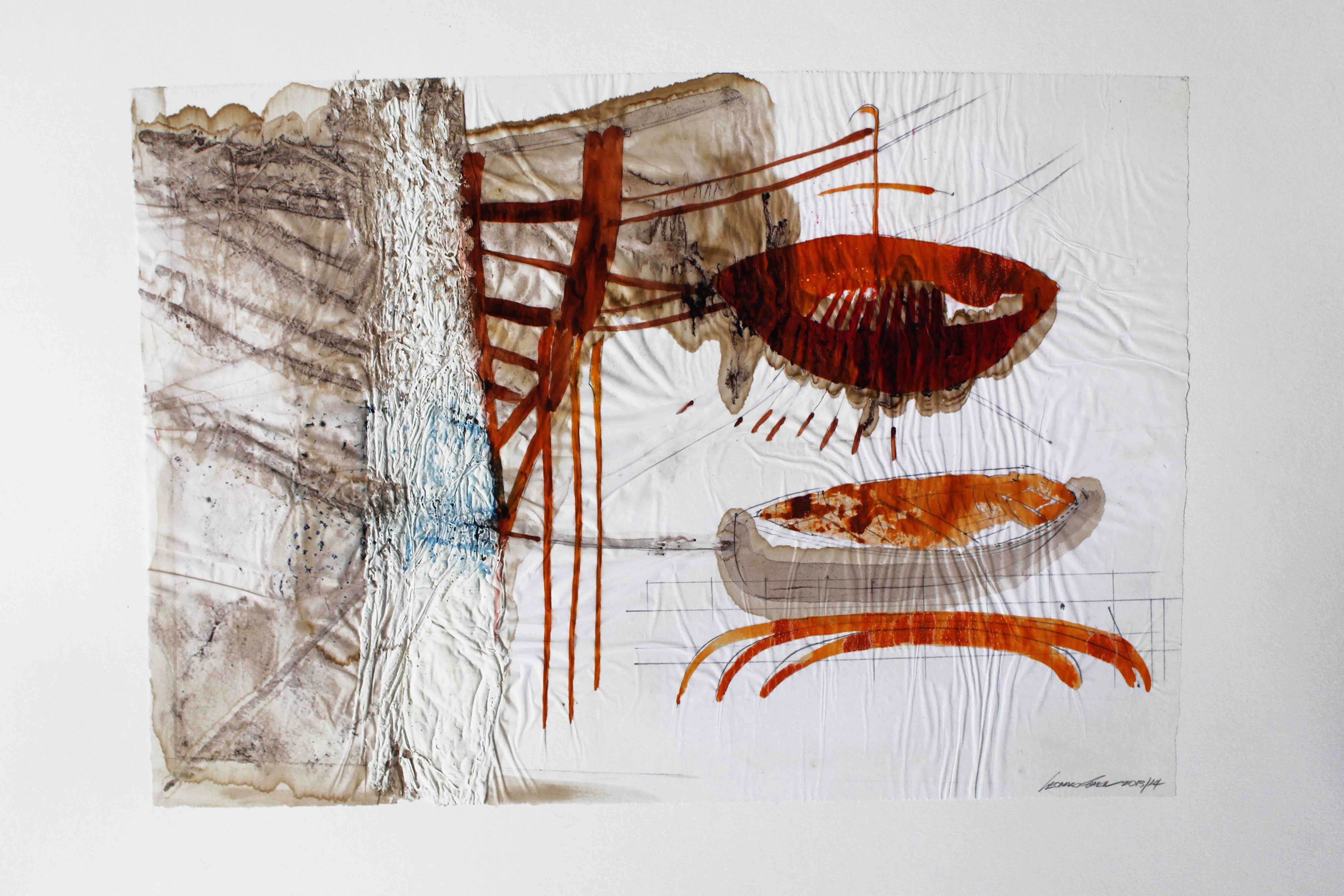 Leonard Sheil: Houseboat Nr.4, 2014