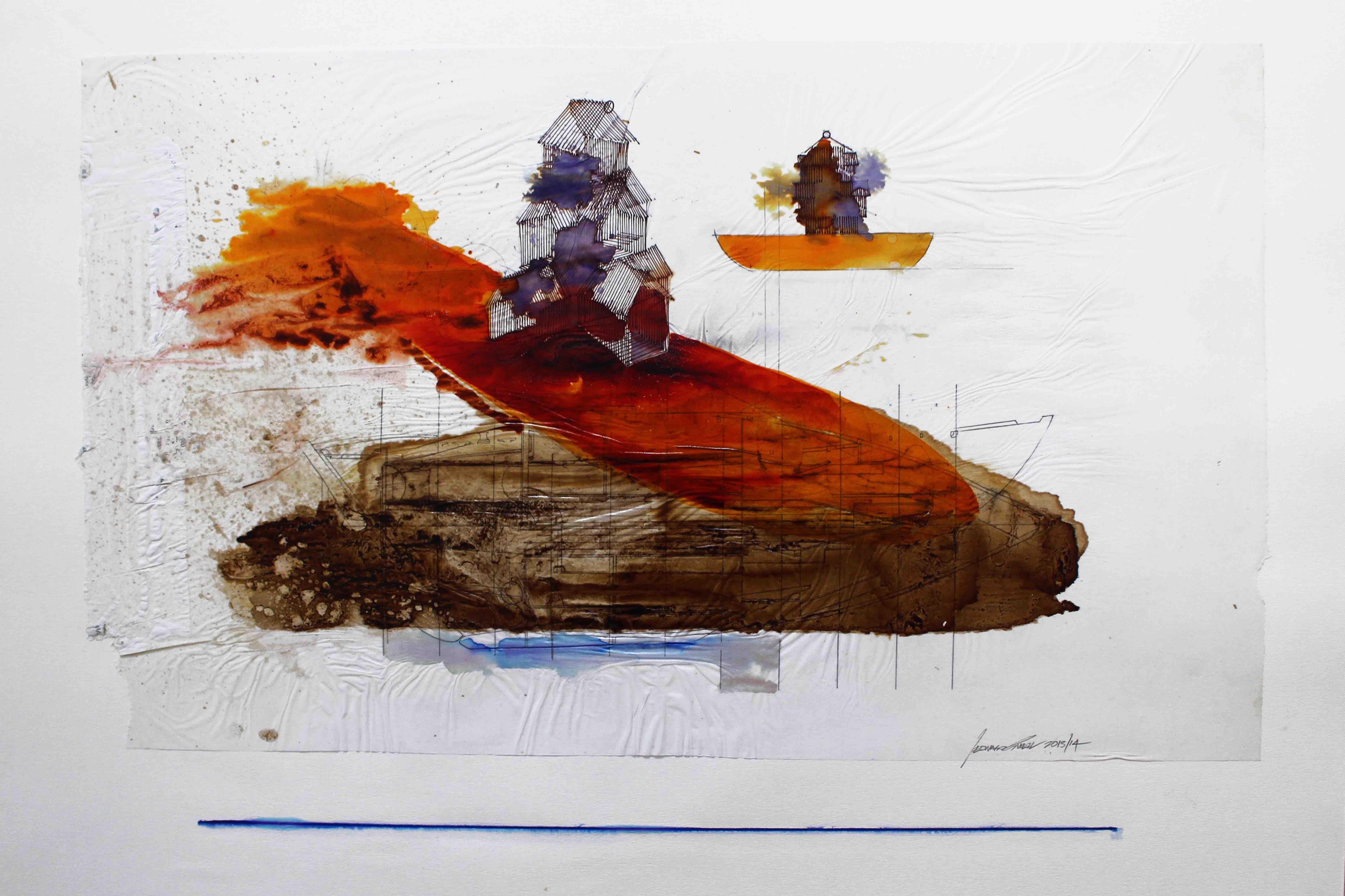 Leonard Sheil: Houseboat No.5, 2014
