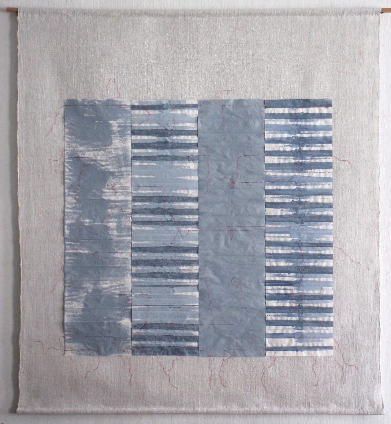 Christine Maringer: Blau, entfaltet #3