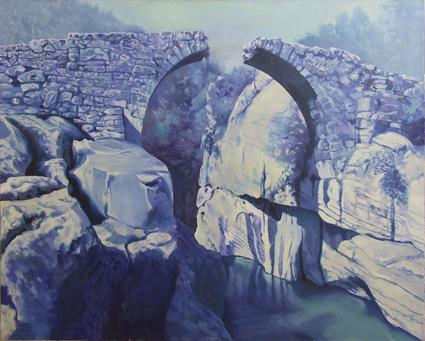 R. Jurtitsch: Blue Bridge, 2012