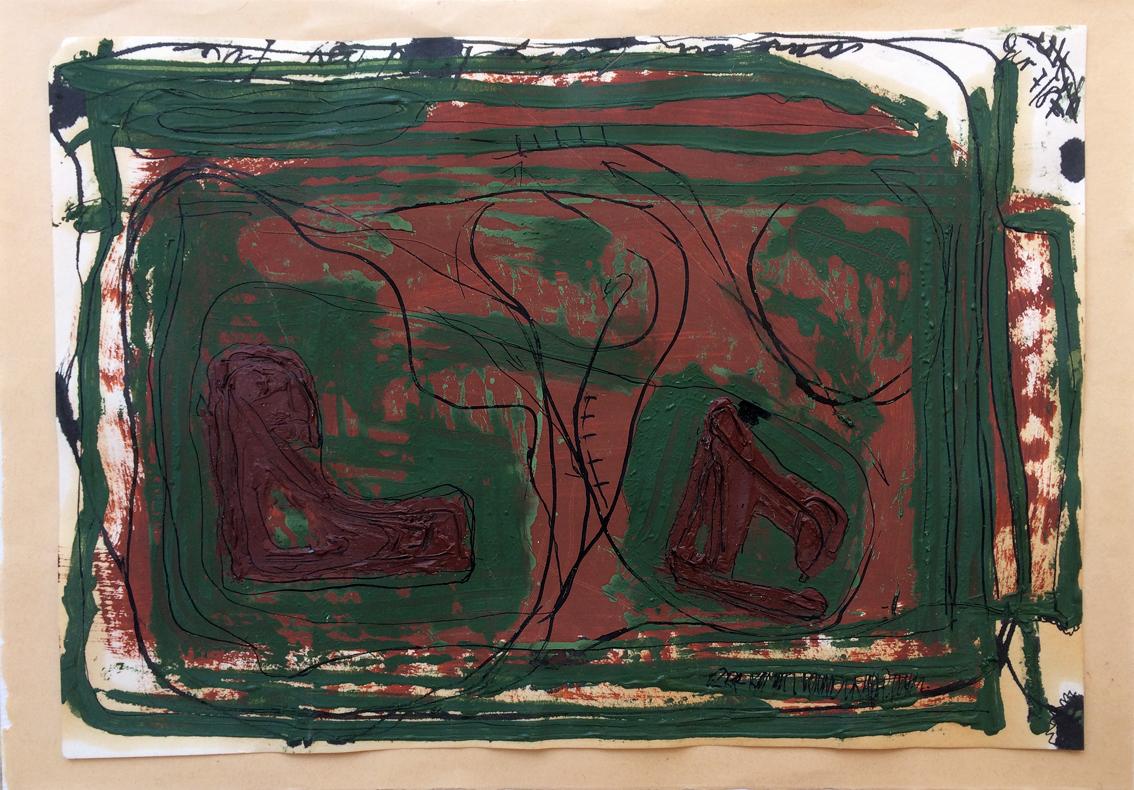 Peter Hofmann-Gir: Papier Räume#101