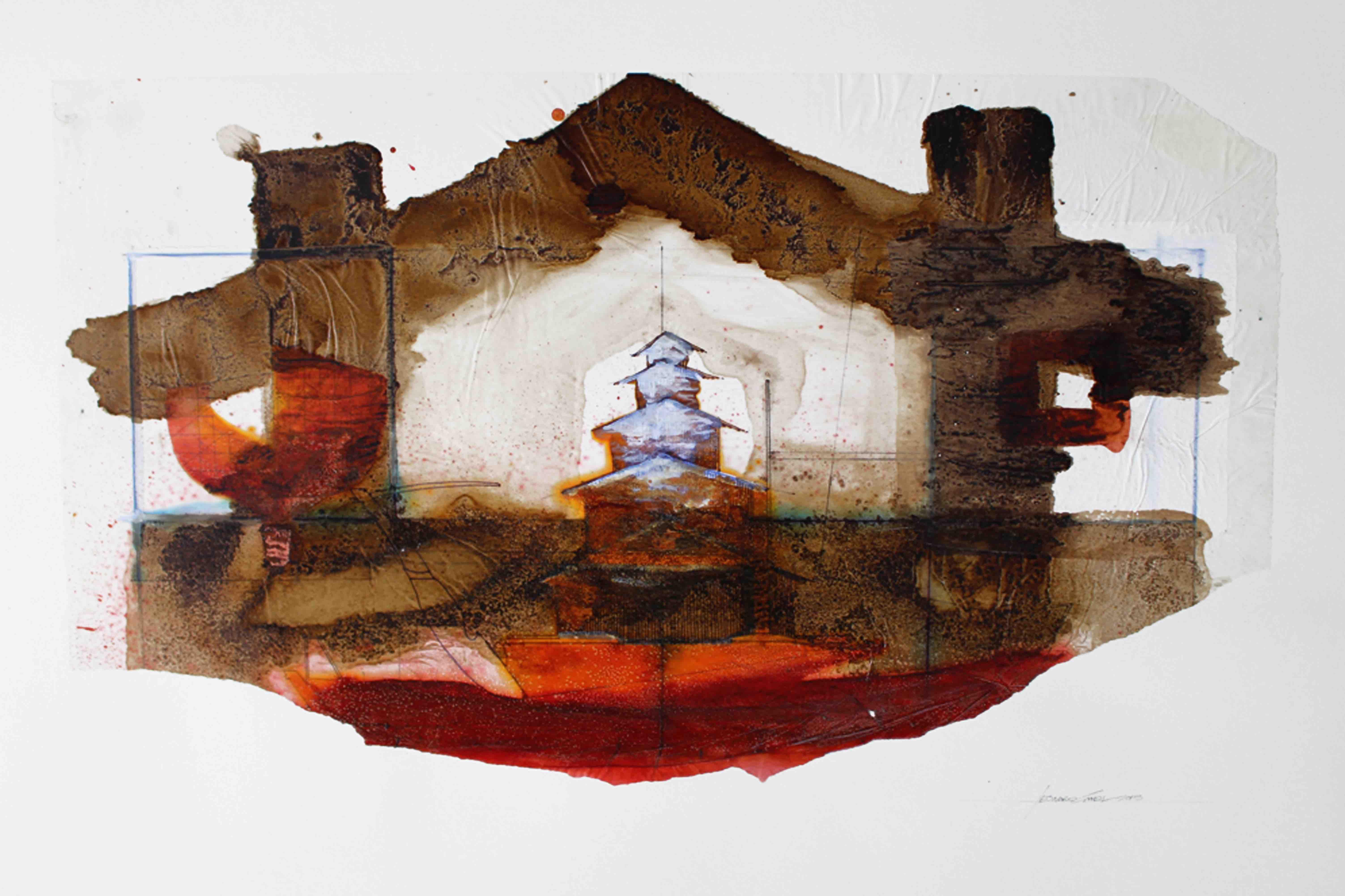 Leonard Sheil: Houseboat No.2, 2014