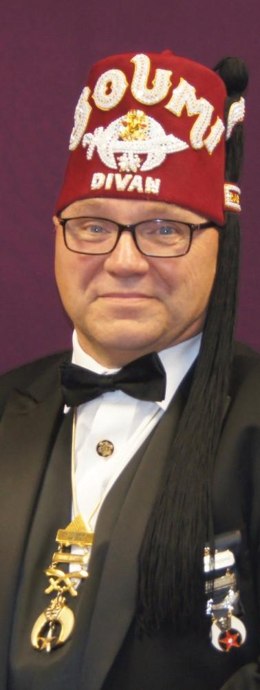 Thomas C. Napper, First Ceremonial Master