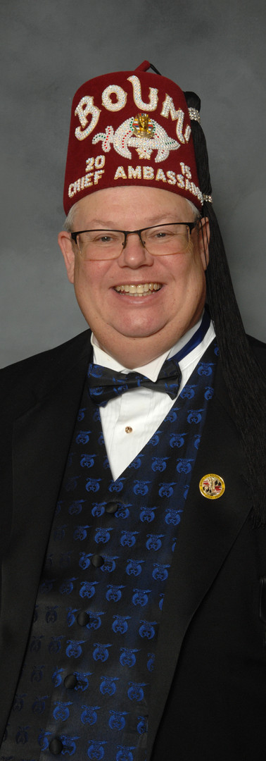 Edward A. DeWaters III, Director of the Temple