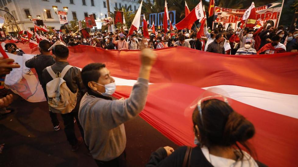 Simpatizantes de Fuerza Popular y Perú Libre convocan a marchas