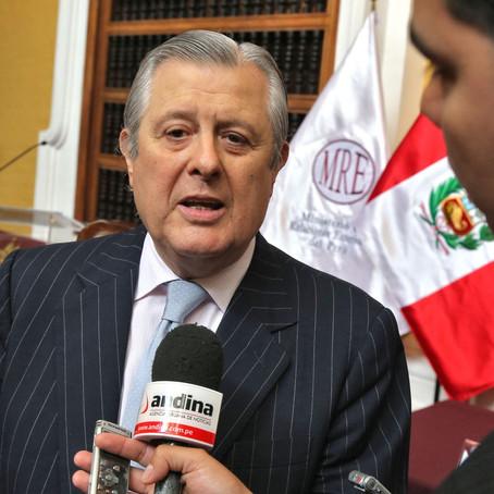 Comisión de RR.EE. del Congreso cita a Canciller