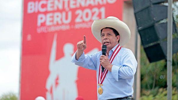 Pedro Castillo se retracta sobre nacionalización de gas de Camisea