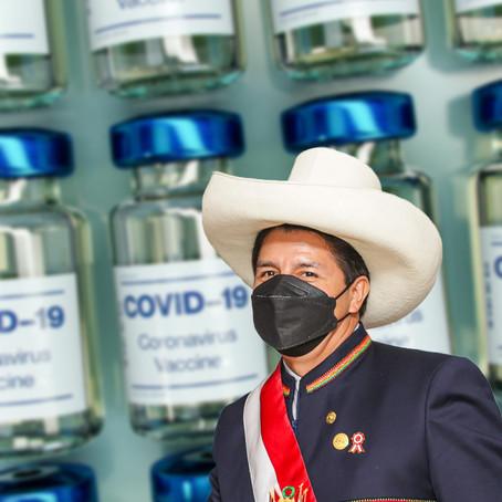 Gobierno de Castillo firmó contrato por 10 millones de dosis con Sinopharm