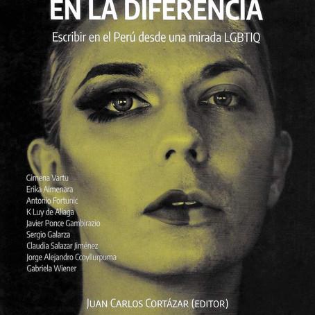 """Publican antología """"El acento en la diferencia : escribir en el Perú con una mirada LGBTIQ"""""""