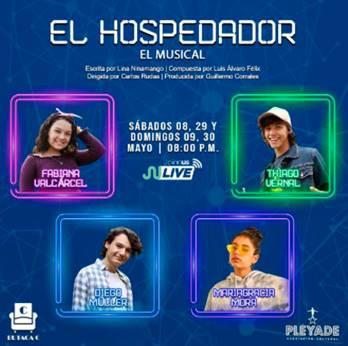 Un musical de confesiones adolescentes: EL HOSPEDADOR - EL MUSICAL