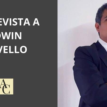 Entrevista a Edwin Cavello