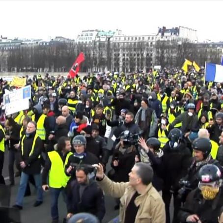Chalecos amarillos vuelven a las calles de Francia