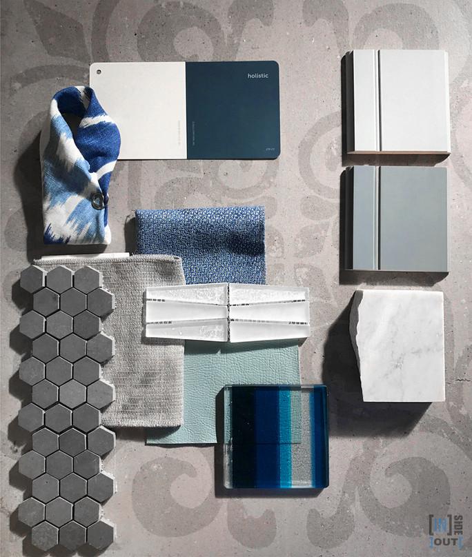 Color scheme : Blue