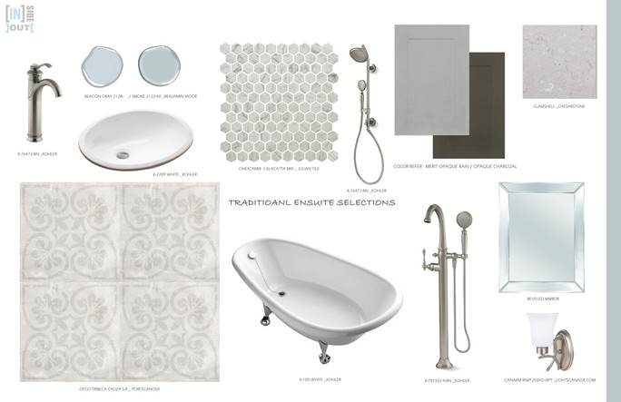 MOOD BOARD - ENSUITE