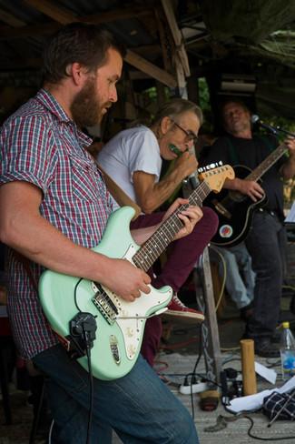 Vide Geiger live with the band Jordbandet