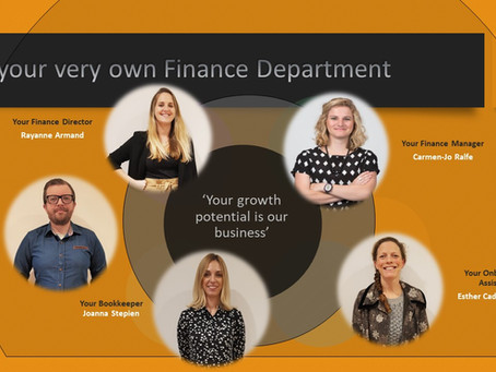 Your very own Finance Department