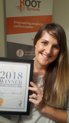 Winner of 100 Woman Exeter