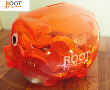 Root2growth piggy banks