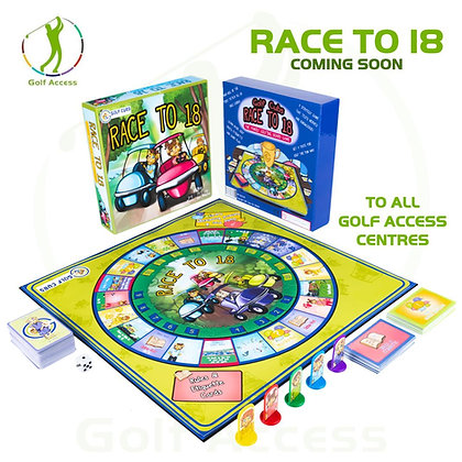 Race to 18 board game