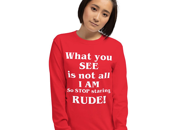 What You See LS Tee